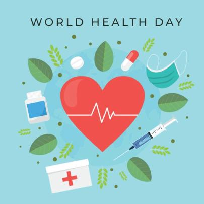 Free World Health Day 04 Graphic Design