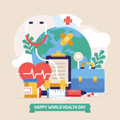 Free World Health Day 05 Medical Illustration