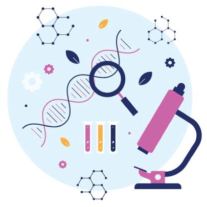 Free Biotechnology Illustration Concept