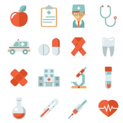 Free Medical Health Cartoon Icons