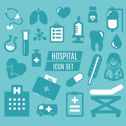 Free Simple Medical Icons Set