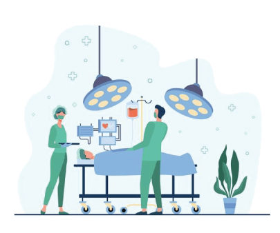Free Surgeons Medical Illustration