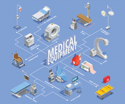 Free Medical Equipment Illustrations Collection