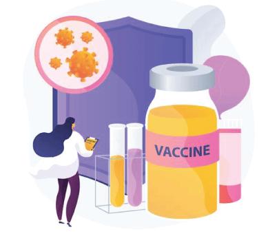 Free Vaccine Illustration