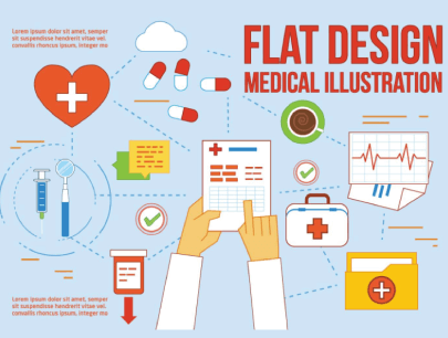 Free Flat Style Medical Items