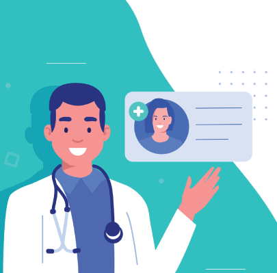 Free Male Doctor Character Illustration