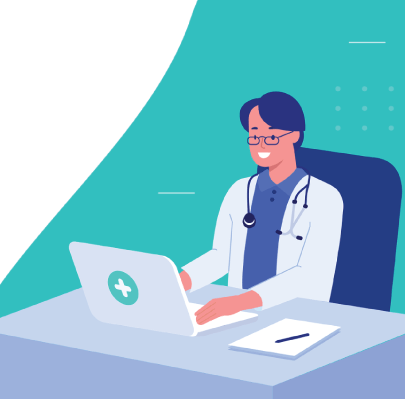 Free Female Doctor Character Illustration