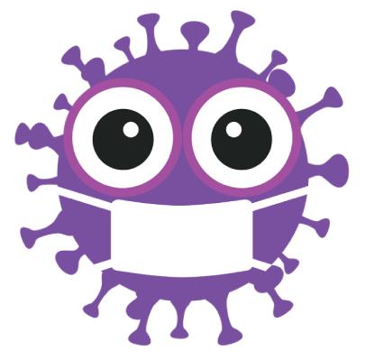 Free Virus Character Illustration
