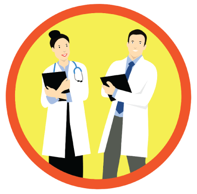 Free Medical Care Doctors Clipart