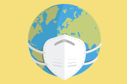 Free Pandemic World Concept Illustration Concept