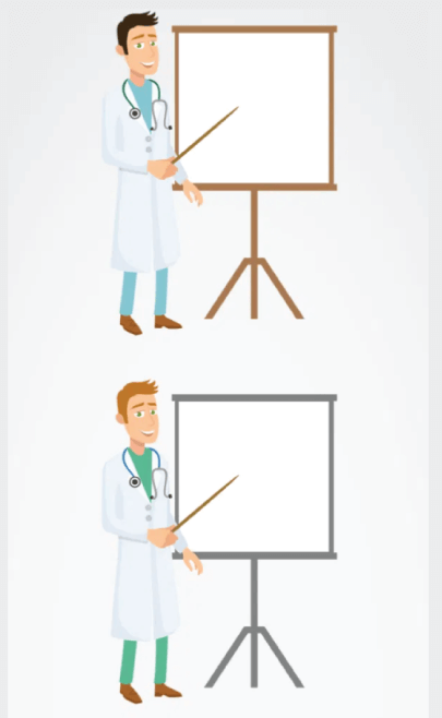 Free Flat Style Doctor Illustration - VectorCharacters