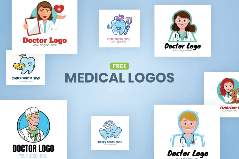 Free Medical Logo Templates by GraphicMama