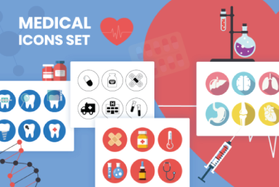 Medical Icons Set by GraphicMama