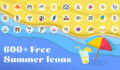 600+ Free Summer Icons