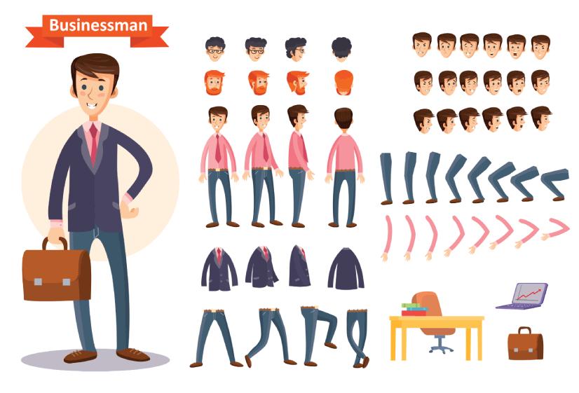 FreeBusinessman Character Maker