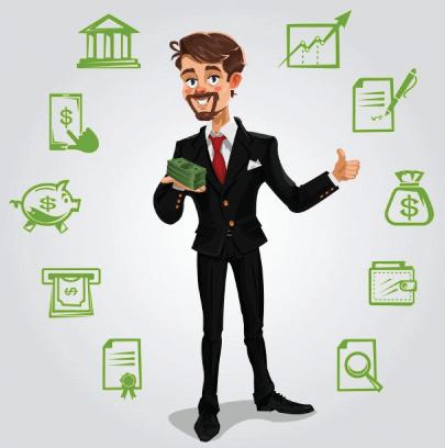 Free Successful Business Illustration