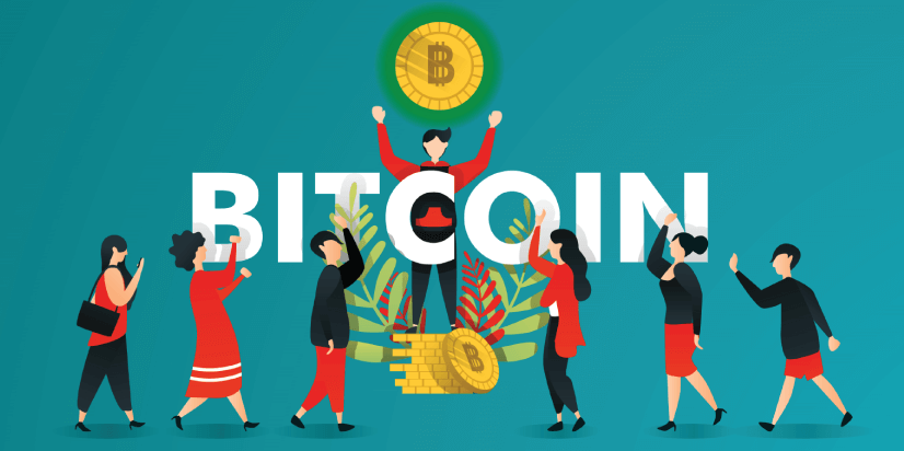 Free Cryptocurrency Business Concept Illustration