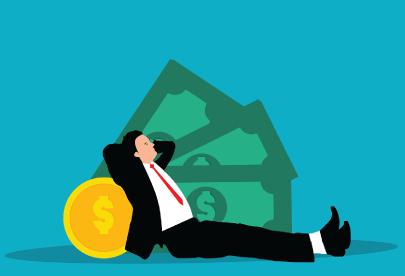 FreeEnjoying Success Corporate Illustration