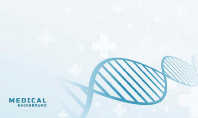 free medical background with gradient DNA pattern