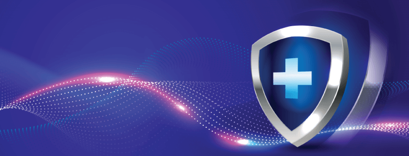 free background with shield and gradients