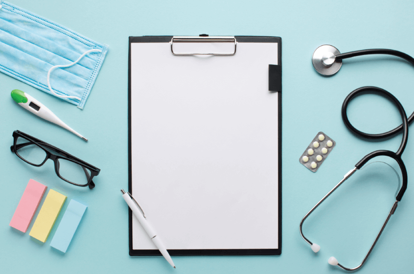free healthcare accessories background