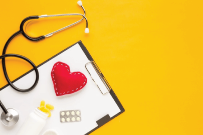 free background with medical accessories