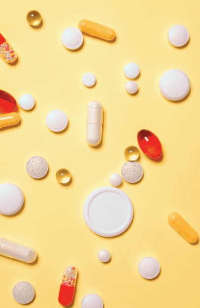 free background with medications