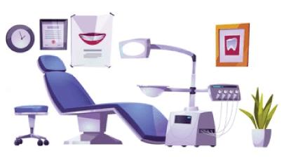 free stomatology background