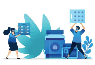 free background illustration marijuana research