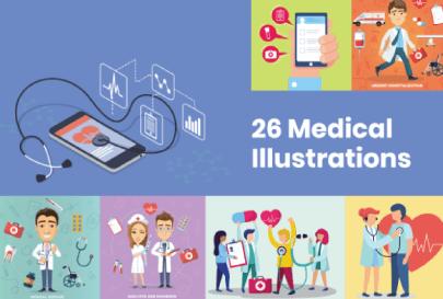 Medical Illustrations Bundle