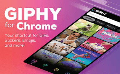 GIPHY for Chrome free extensions for teachers