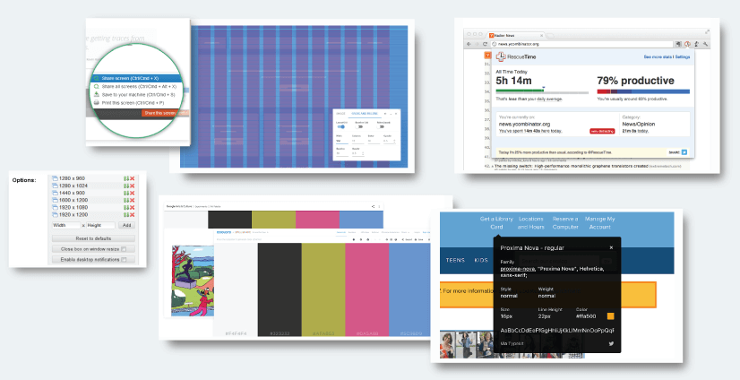 graphic mama top choices: assets for graphic designers google chrome extensions
