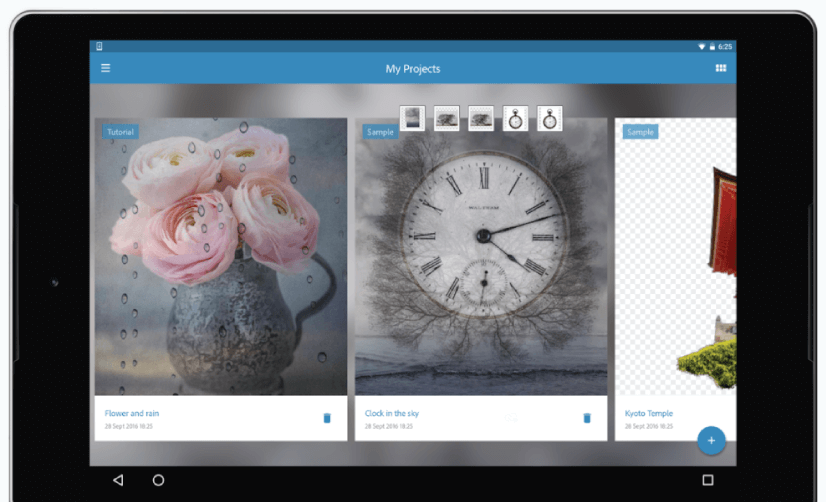 Adobe Photoshop Mix free mobile apps for graphic designers