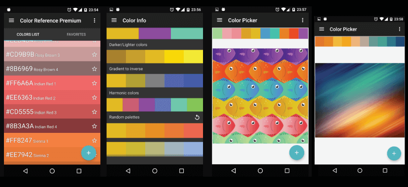 Color Reference free mobile apps fpr graphic designers