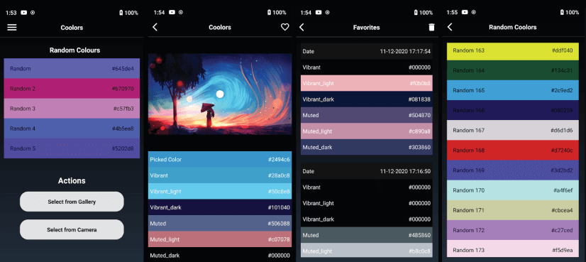 Coolors free mobile apps for graphic designers