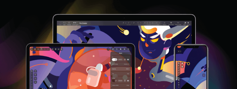 Vectornator free mobile apps for graphic designers