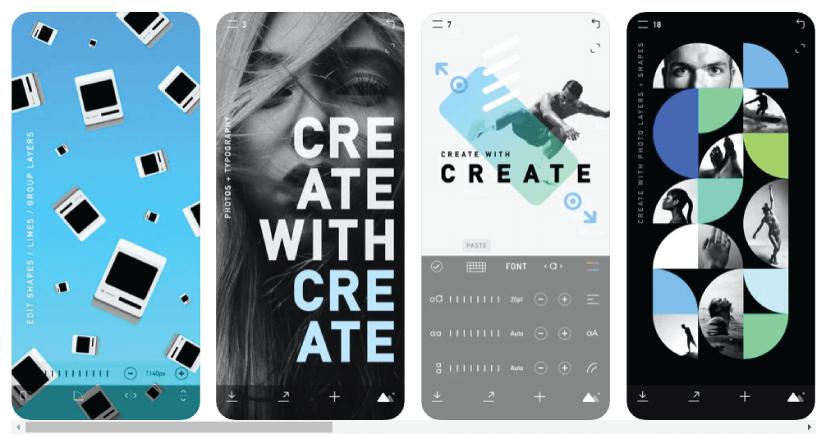 CREATE: Graphic Design + Fonts