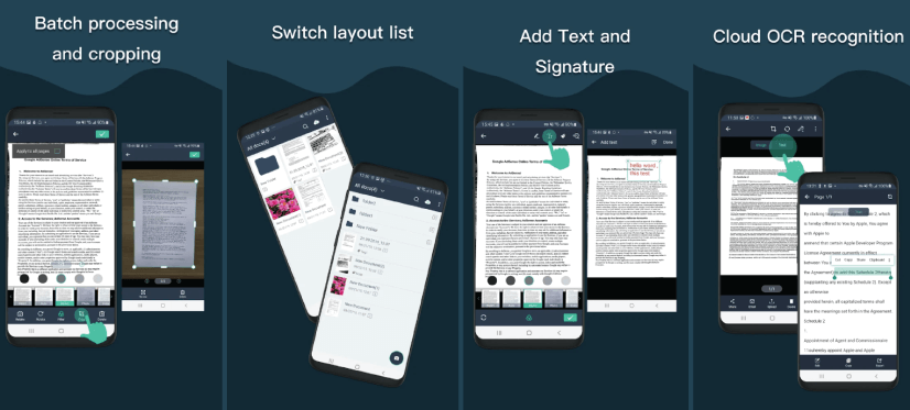 mobile apps for designers: simple scan