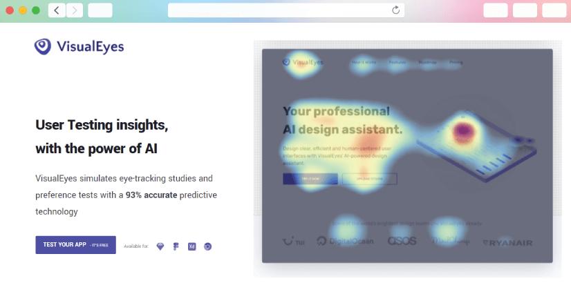 graphic design tools: visualeyes