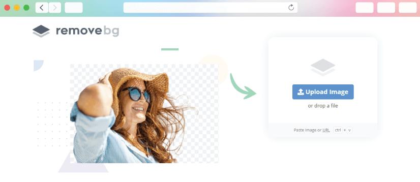 graphic design tools: remove background