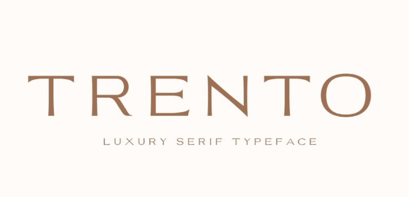 Free Commercial Fonts in 2021: Trento