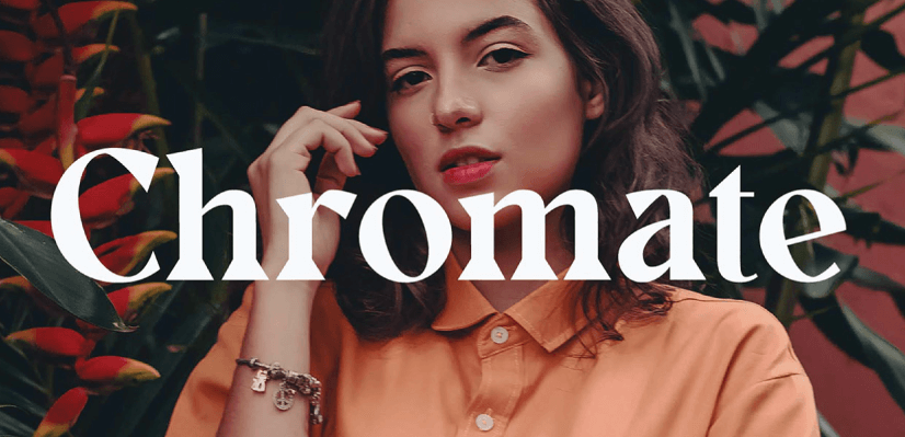 Free Commercial Fonts in 2021: Chromate