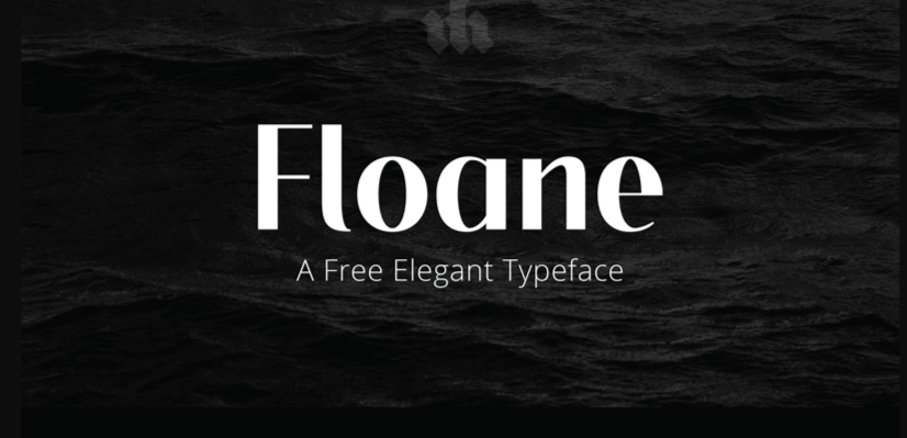 Royalty Free Sans Serif: Floane