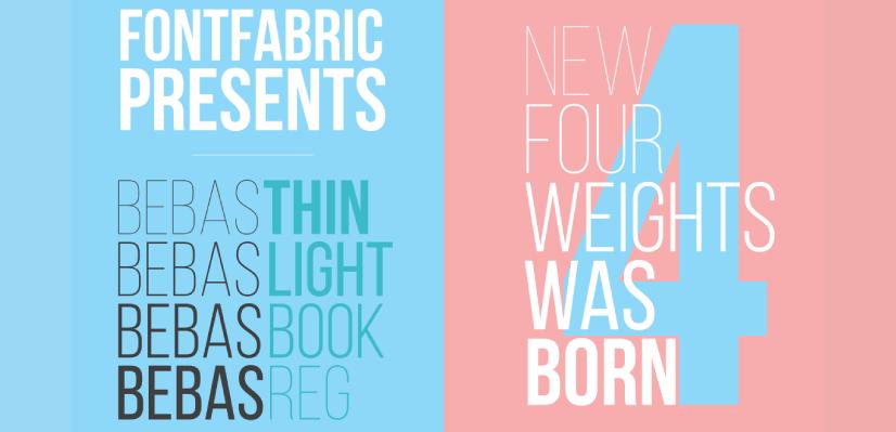 Royalty Free Sans Serif: Bebas Neue