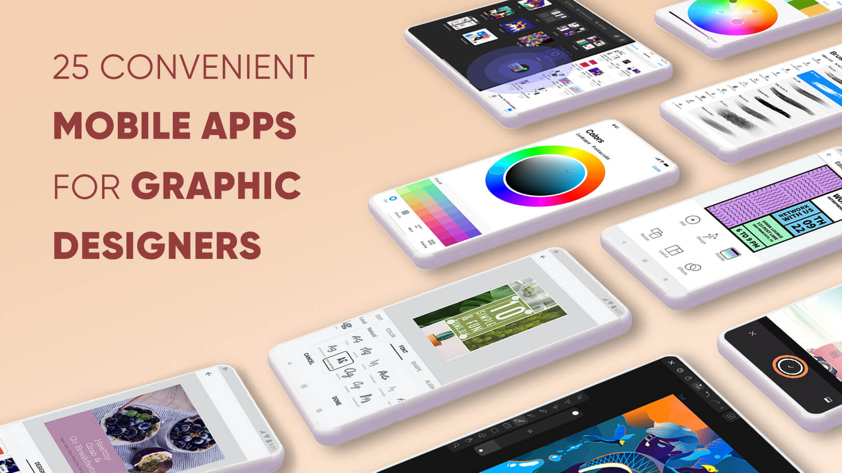 25 Convenient Mobile Apps for Graphic Designers (Android, iOS)