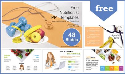 Free Food PowerPoint Templates: Diet Plan Nutritionist