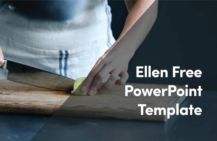Free Food PowerPoint Templates: Ellen