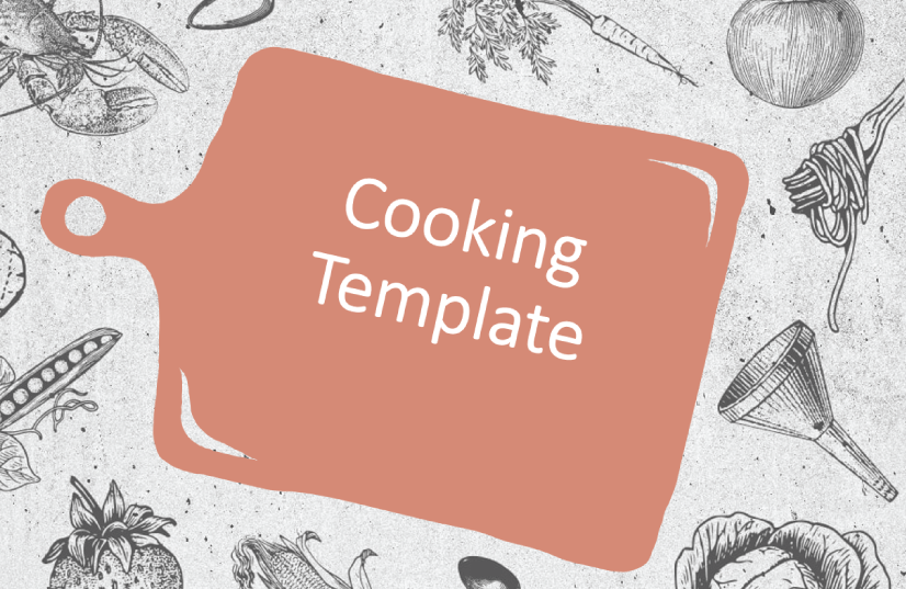 Free Food PowerPoint Templates: Cooking