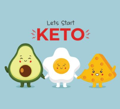 Free avocado illustration: Keto Avocado