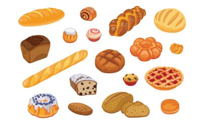 Free bread illustration: Bread Assortment